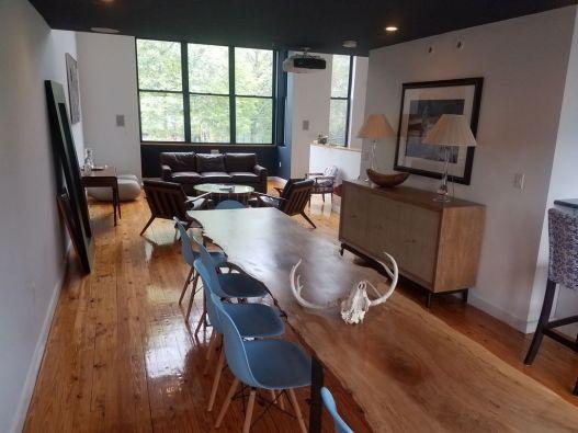 Click for Jamaica Plain Loft Rental slideshow